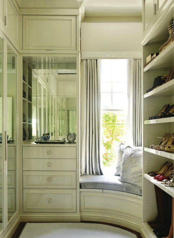 boutique style closet design