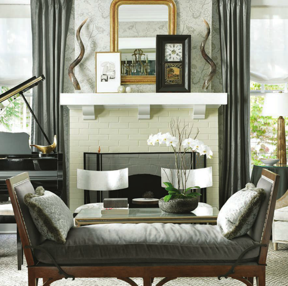 formal living room by Courtney Giles