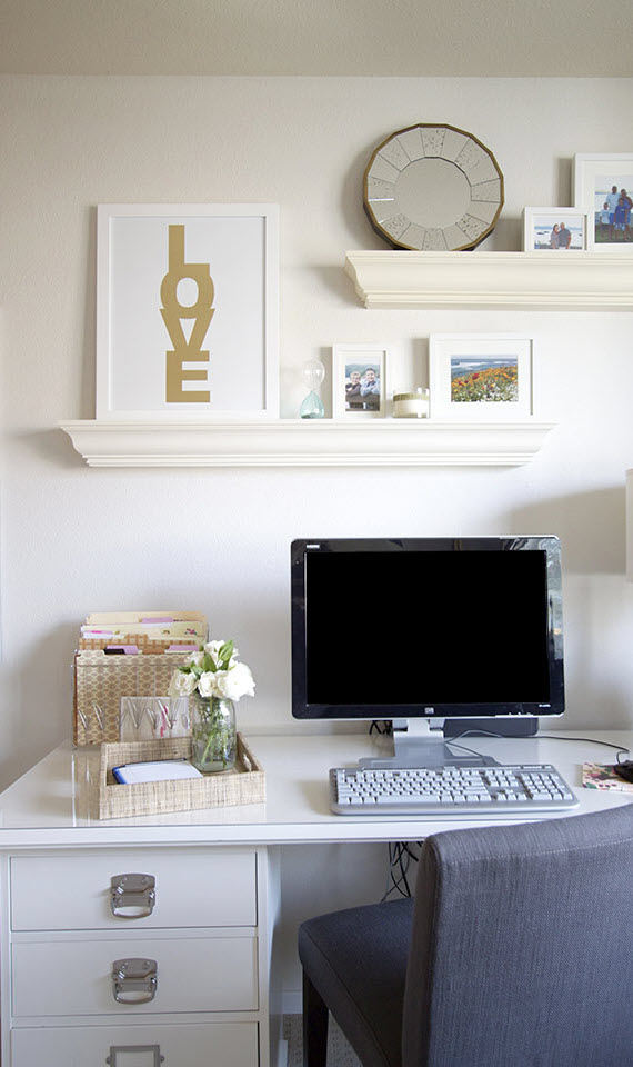 preppy home office