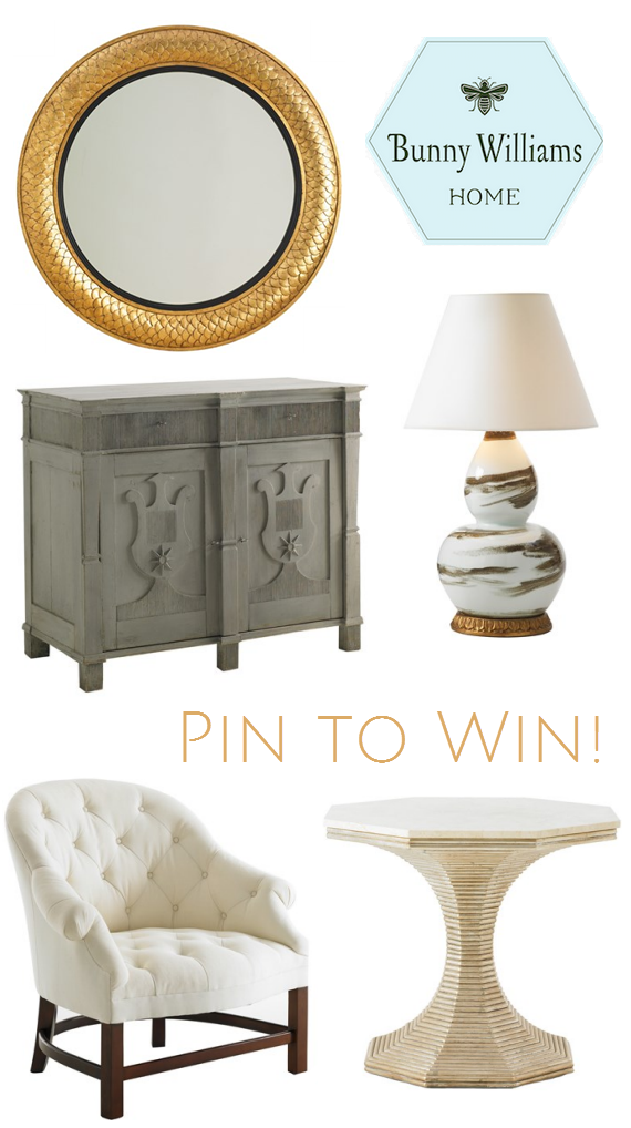 Bunny Williams Home - Pin to Win Contest