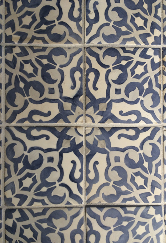 Walker Zanger Tile - Duquesa Fatima Pattern #BlogTourVegas