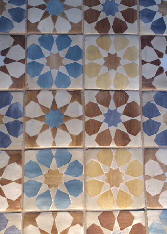Walker Zanger Tile - Duquesa Fez Pattern #BlogTourVegas