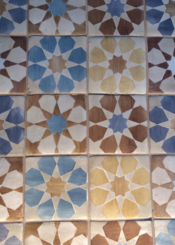 Walker Zanger Tile - Duquesa Fez Pattern #BlogTourVegas