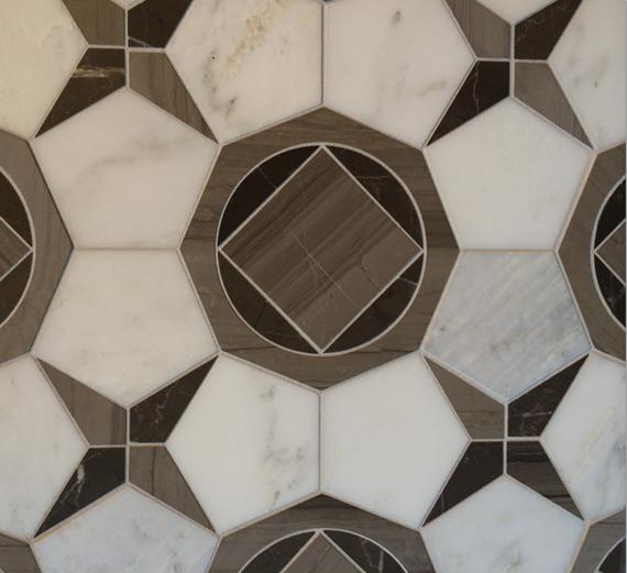 Walker Zanger Tile - Ostia Pattern #blogtourvegas
