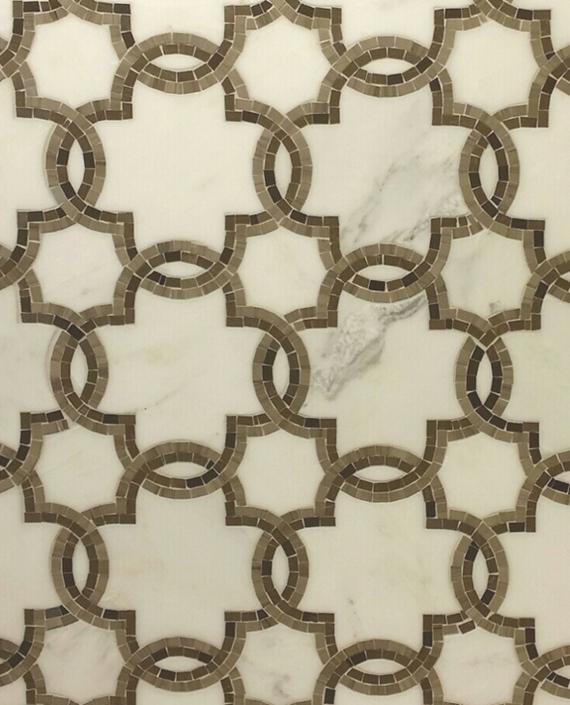 Walker Zanger Tile - San Marcos Pattern #mosaic #tile