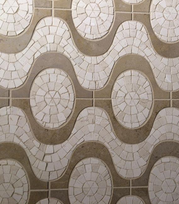Walker Zanger Tile - Tagent Ipanema Pattern #blogtourvegas