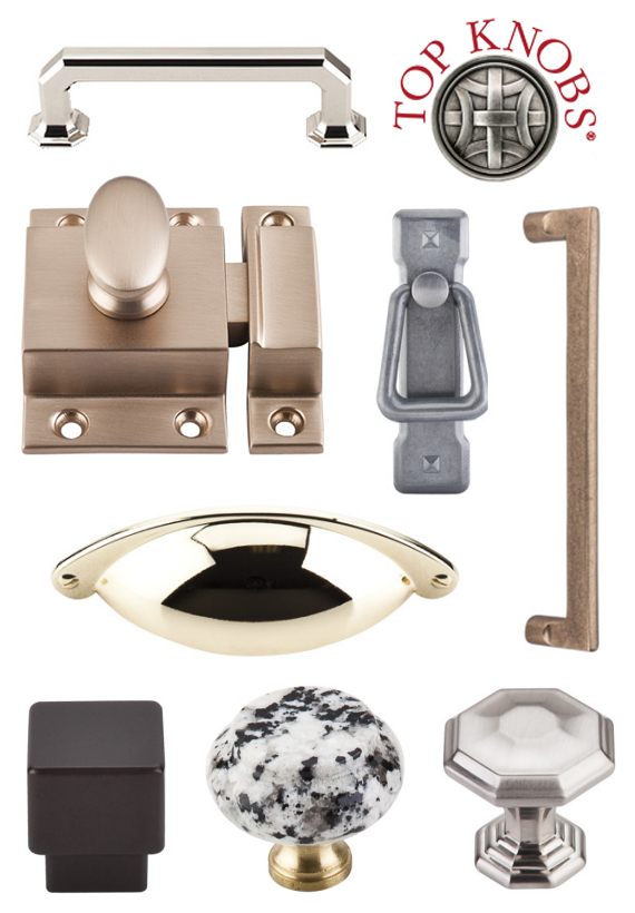 cabinet hardware by Top Knobs