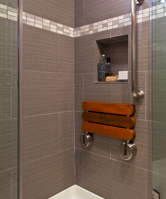 steam shower pull down seat - mr steam