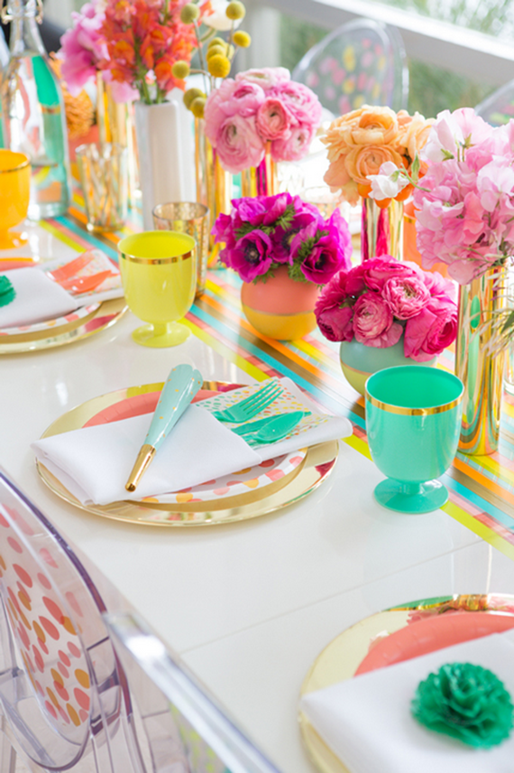 Oh Joy! Garden Party Tablescape