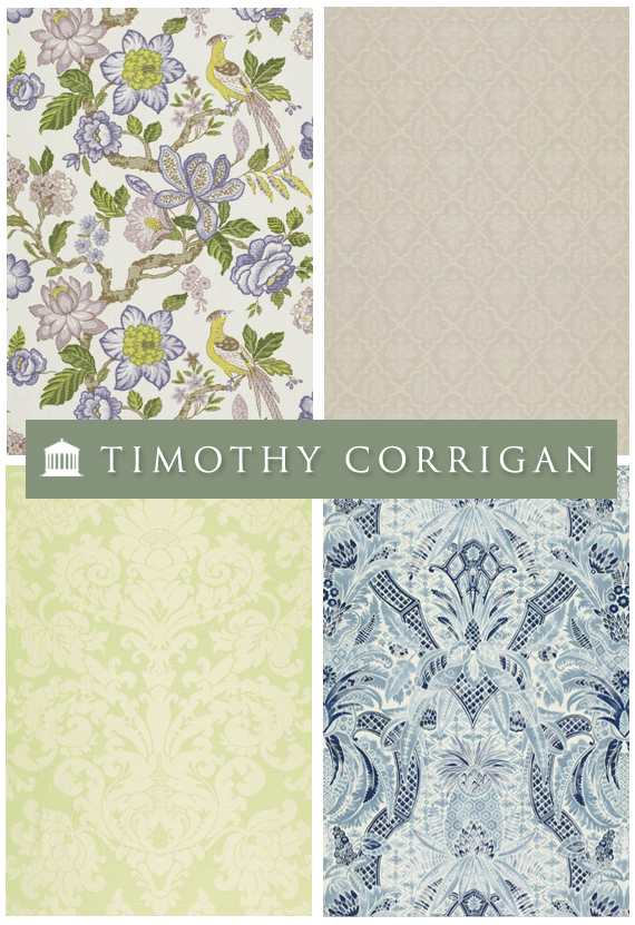 Timothy Corrigan fabrics for Schumacher