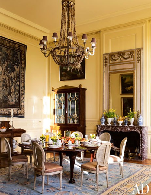 Timothy Corrigan formal dining room