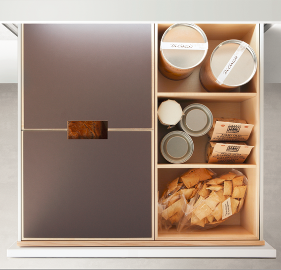 baking drawer by Poggenpohl #kitchens