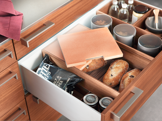 high-function bread drawer - Poggenpohl #kitchens