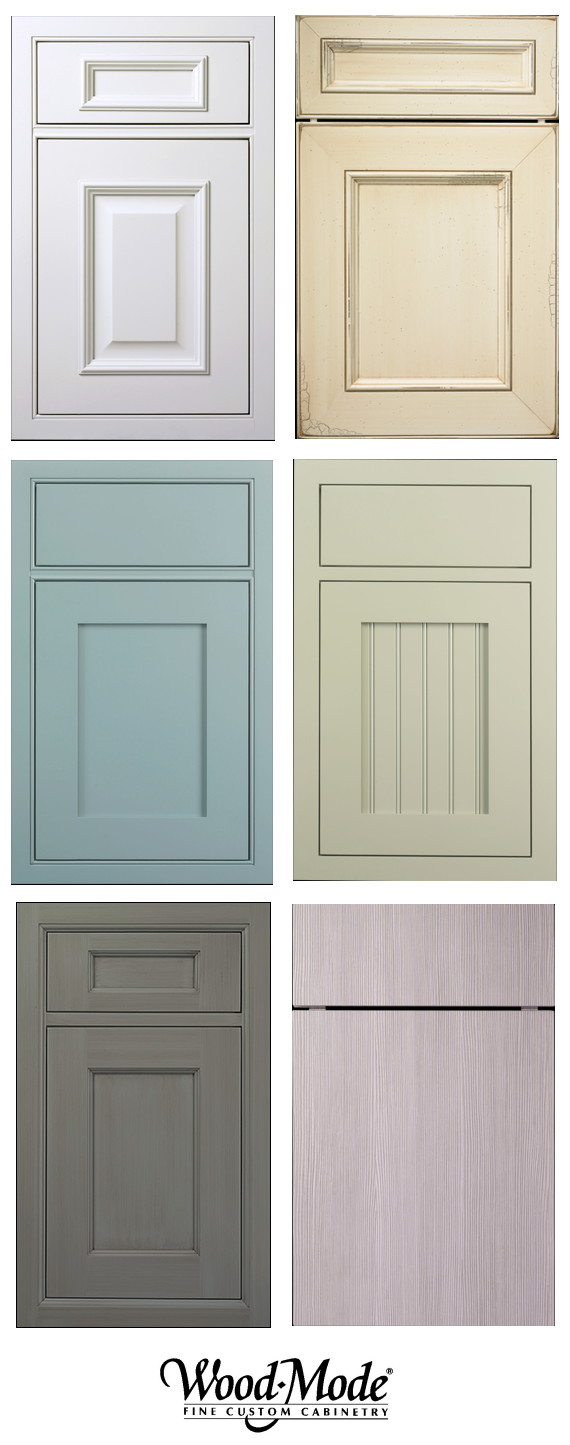 Endless options wood mode cabinetry simplified bee for Kitchen cabinet doors