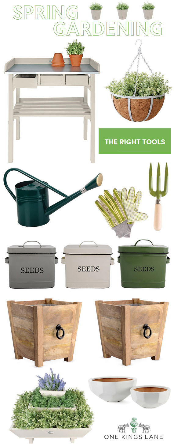 spring gardening must haves
