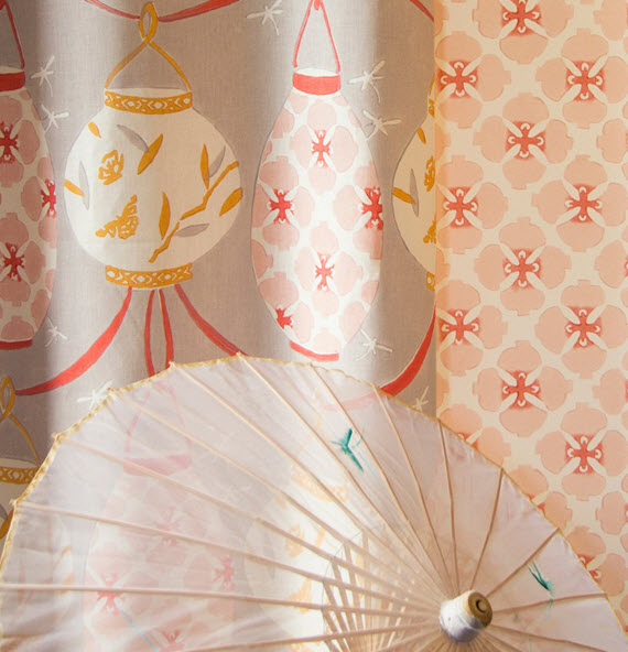 Galbraith and Paul - Lantern and Sakura Fabrics