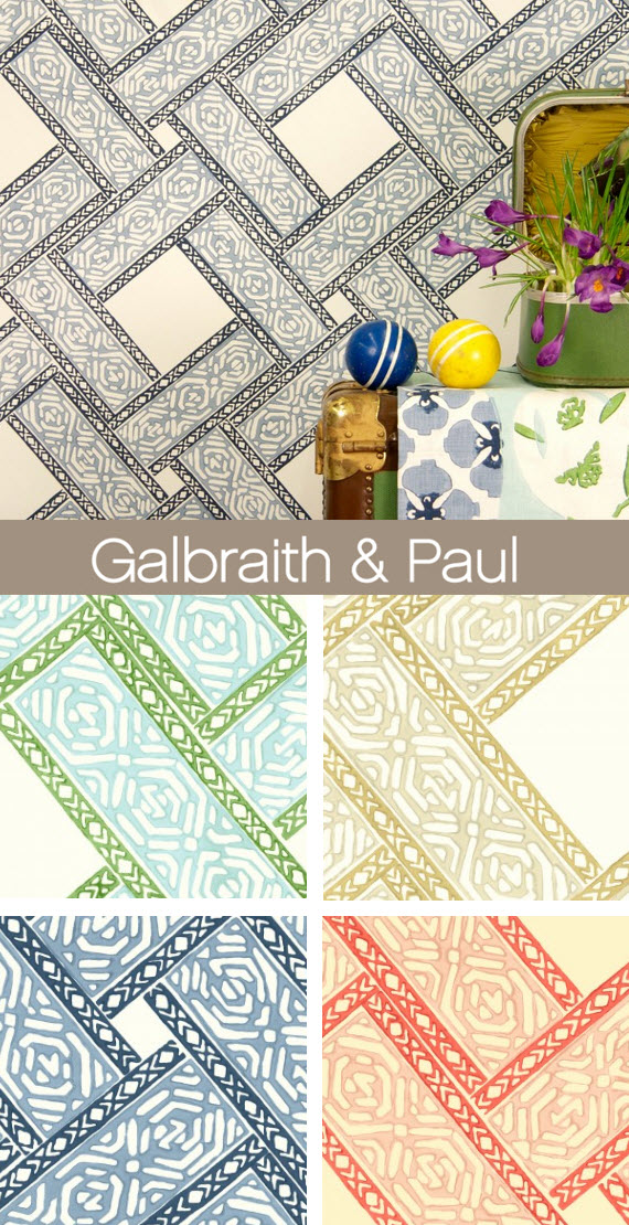 Galbraith and Paul - Parquet Fabric and Wallpaper 2014