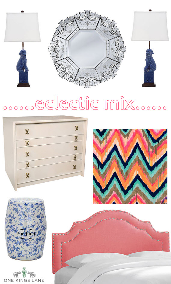 One Kings Lane // Eclectic Decor Finds
