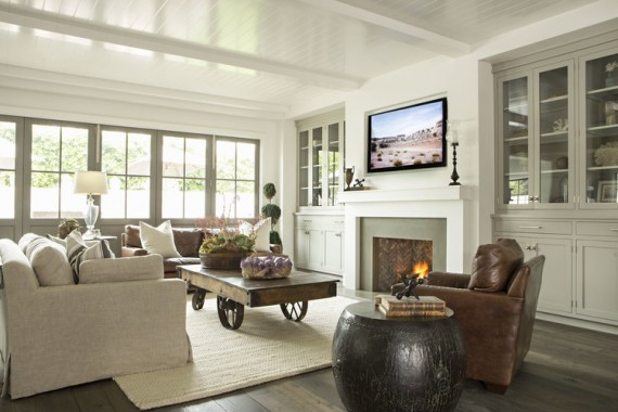 relaxed california style living room