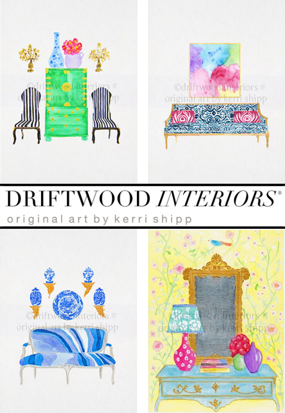 Driftwood Interiors Artwork Giveaway - Simplified Bee