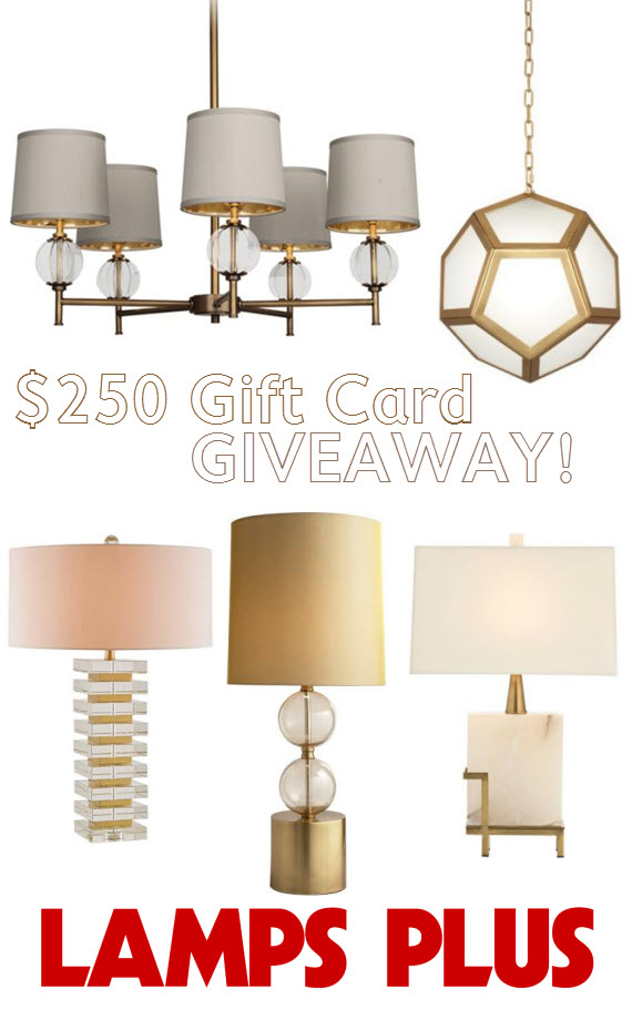 Lamps Plus gift card giveaway - Simplified Bee