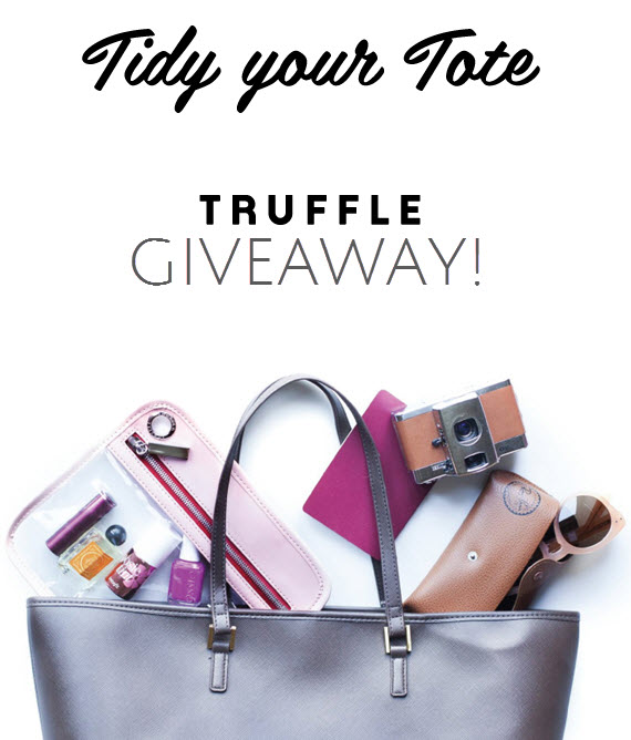 Tidy Your Purse - Truffle Giveaway - Simplified Bee Blog #giveaway