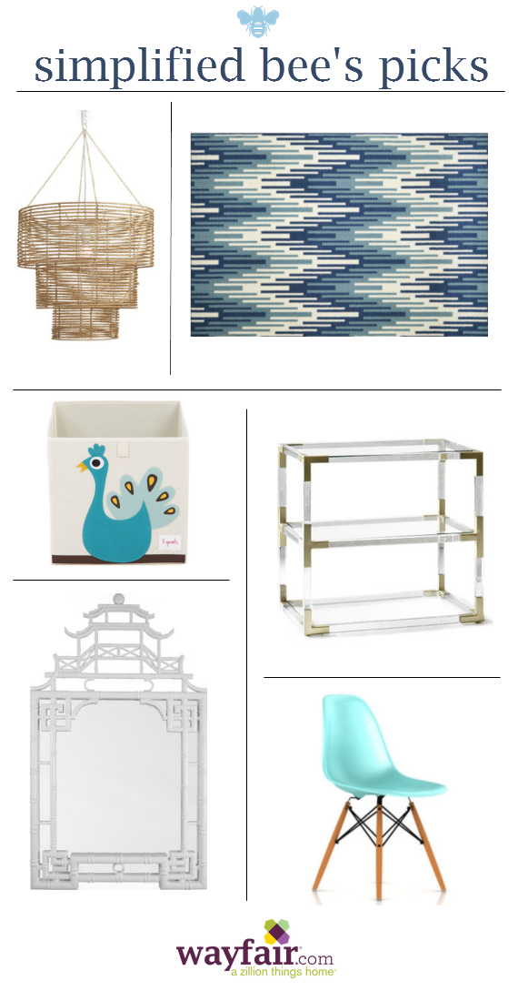 Wayfair Fave Picks - Simplified Bee