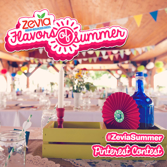 Zevia Flavors of Summer Pinterest Contest - Win $500