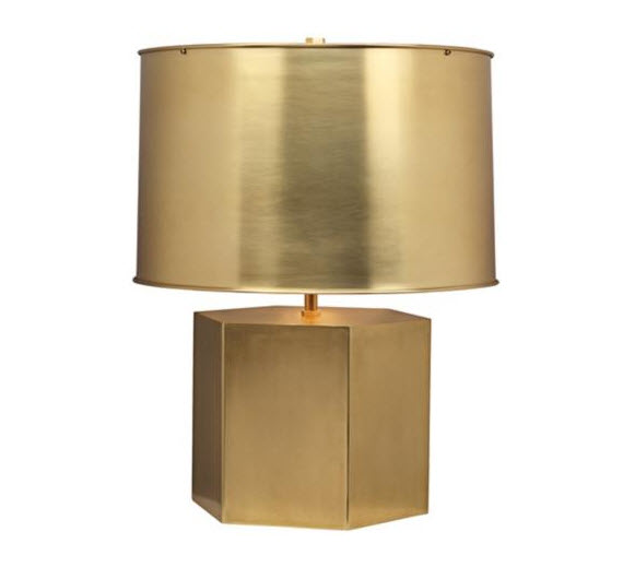 Lamps plus archives simplified bee brass table lamp by mary mcdonald for robert abbey aloadofball Images