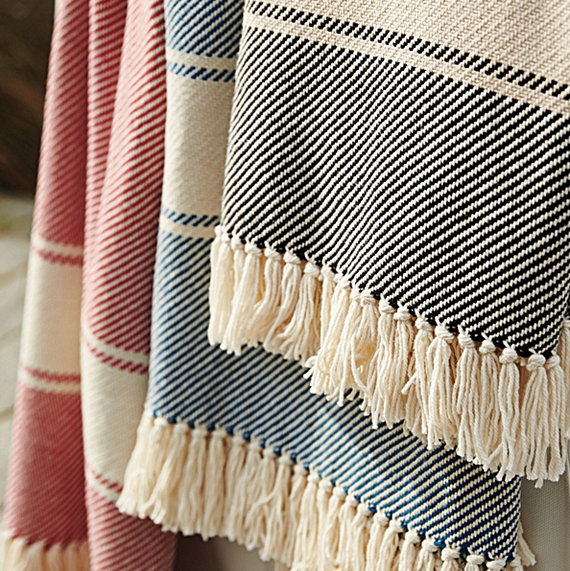 cotton-herringbone-throw-blanket
