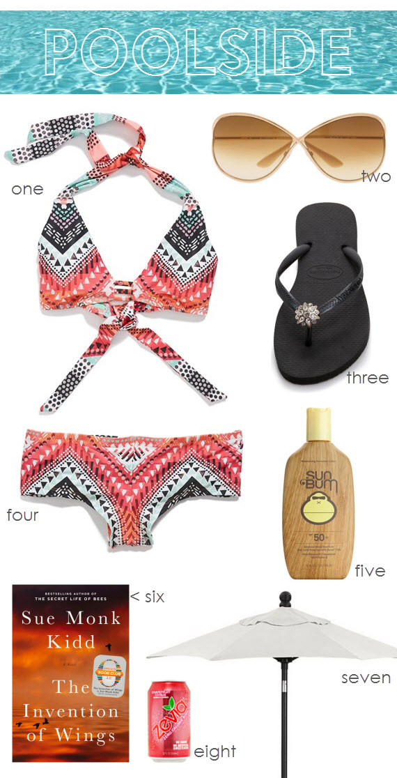poolside attire - simplified bee blog #summer #fashion #poolside