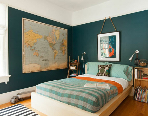 global chic boy's bedroom