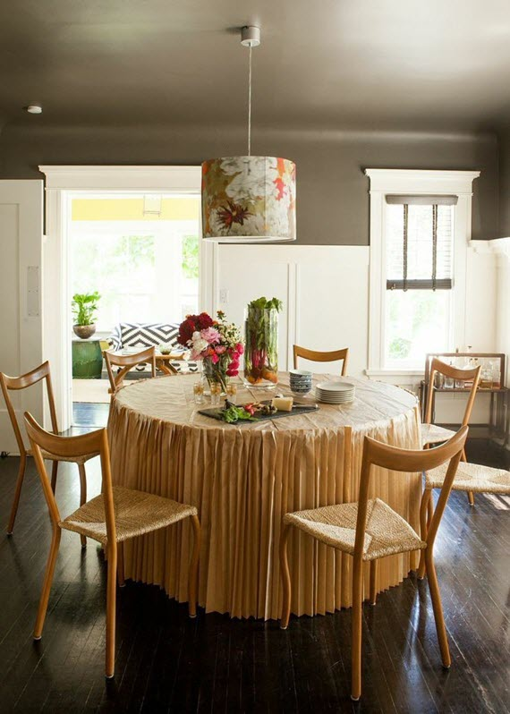 global chic dining room // lonny