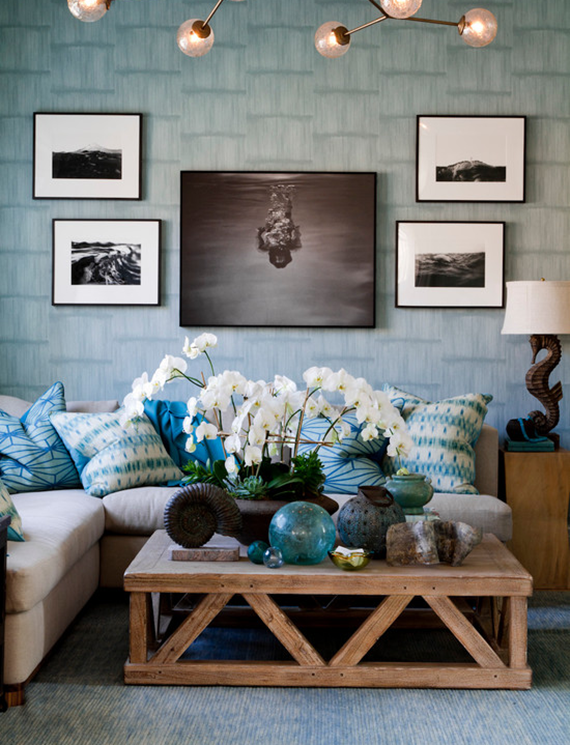 Holiday House Hamptons // Blue Room
