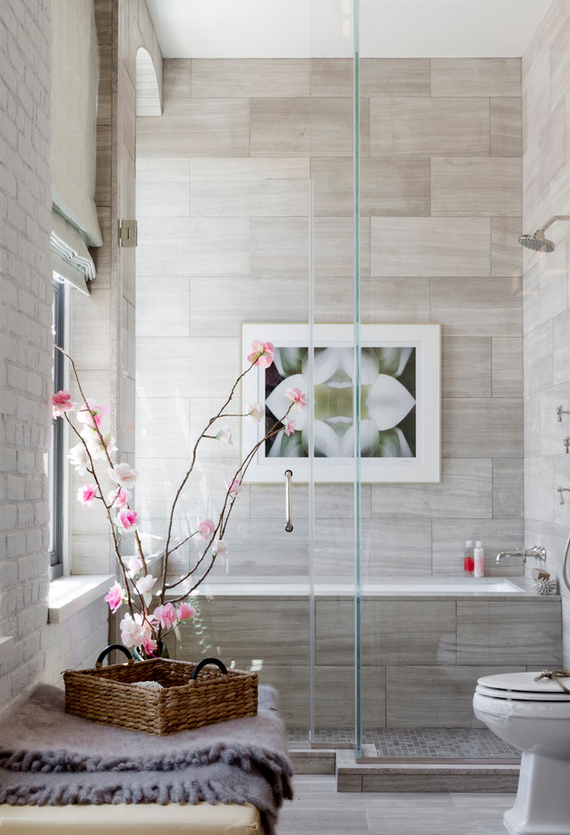 Holiday House Hamptons 2014 // Bathroom