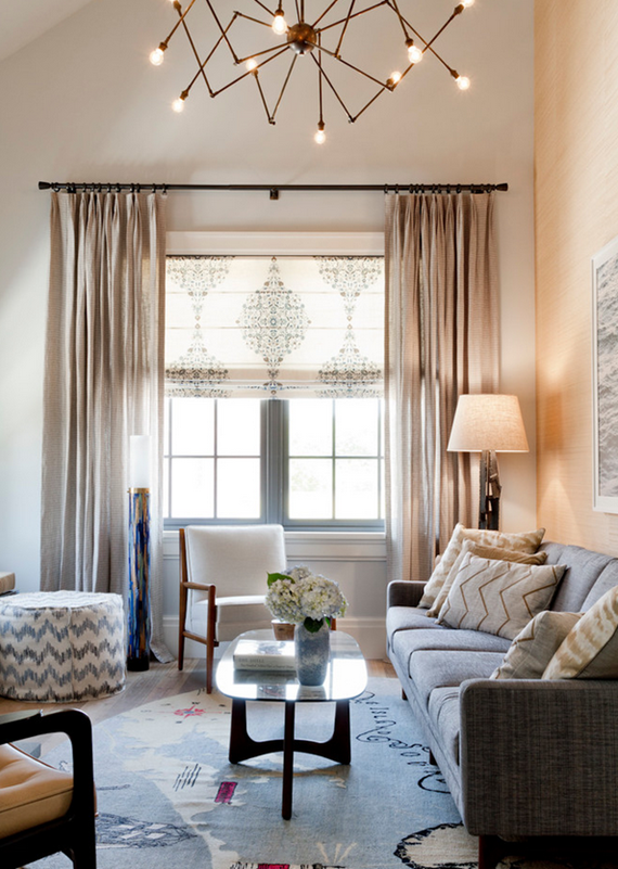 Holiday House Hamptons 2014 // Living Room