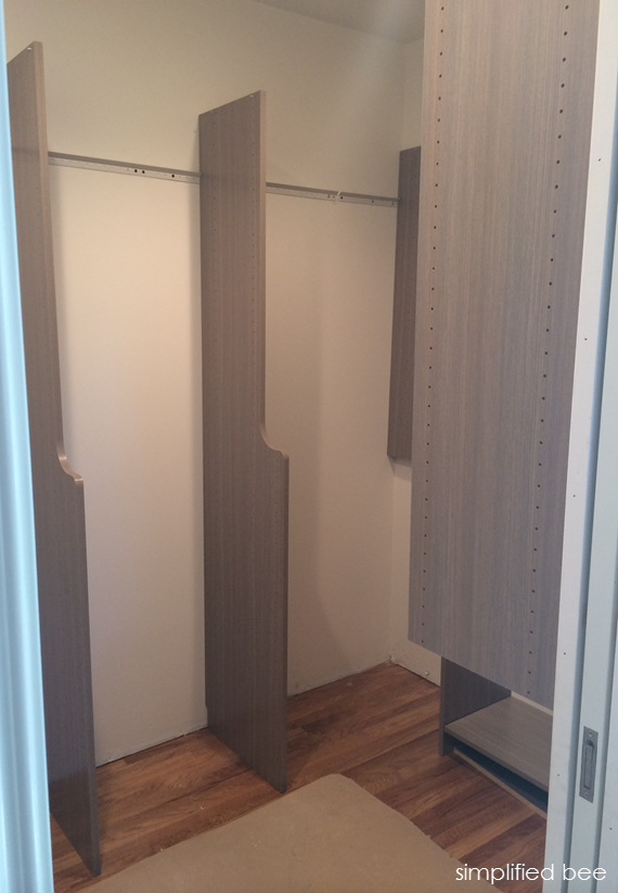 EasyClosets install // Simplified Bee #closets