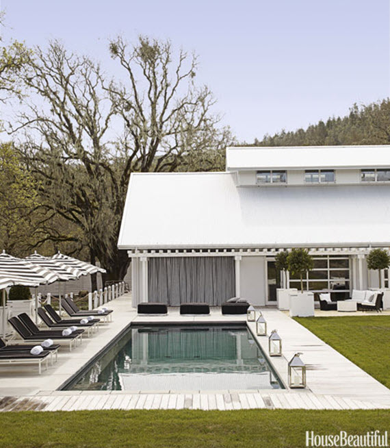 Poolside // Napa Ranch Home