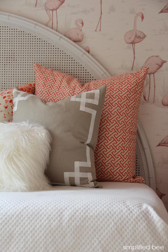 Girls Flamingo Bedroom & Caitlin Wilson Textiles