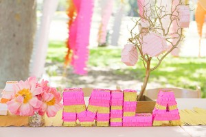 Letter Pinatas - Birthday Party Ideas