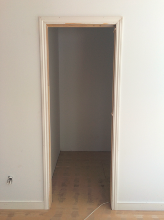 rough walk-in closet - simplified bee