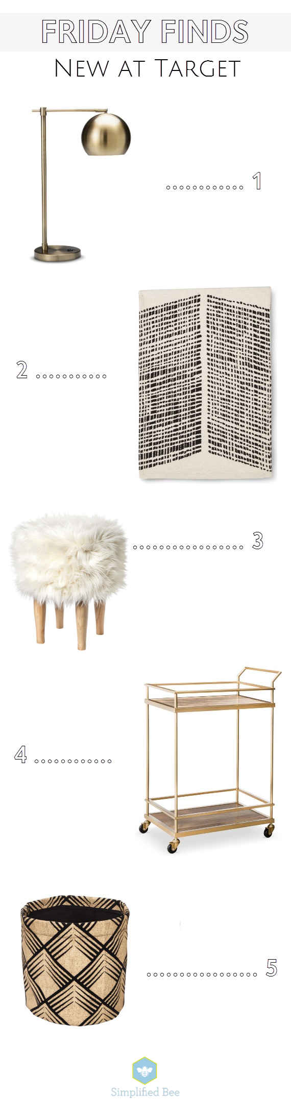 5 favorites from Target Home for Fall 2014 // Simplified Bee