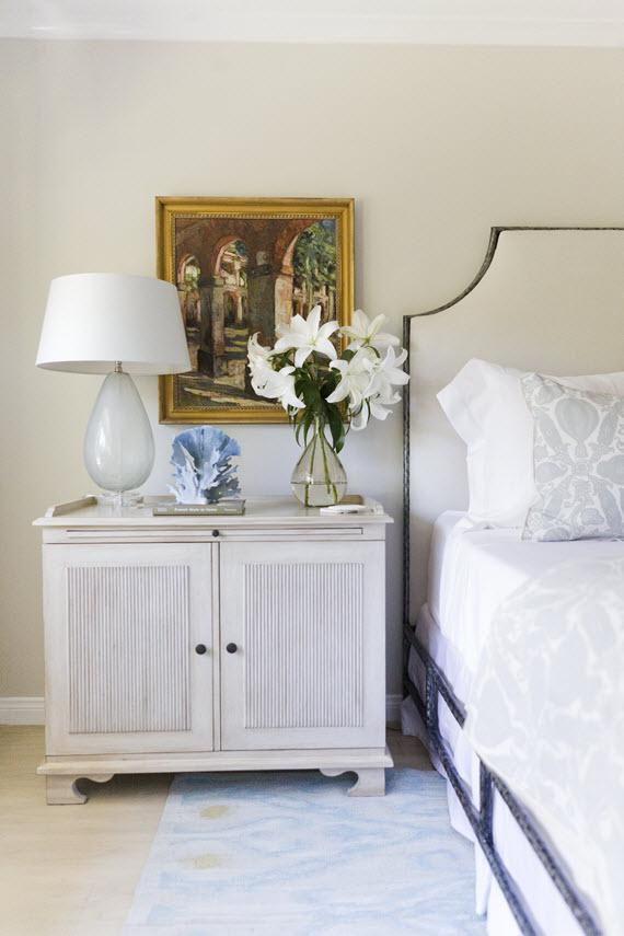 elegant california bedroom #bedside #bedrooms