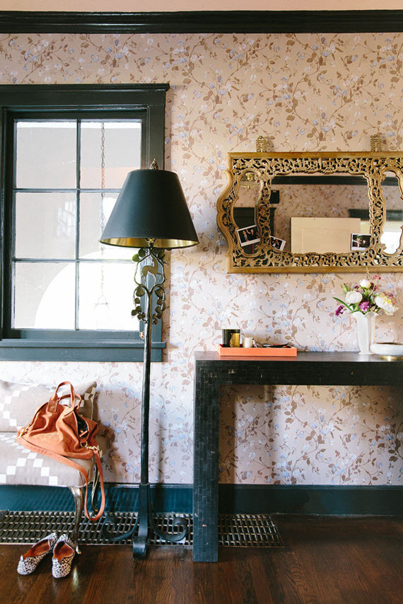 fabulous entryways // Chloe Warner #chinoiserie #entryways