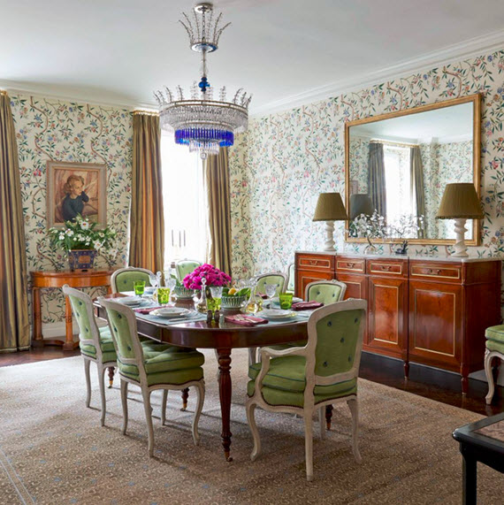 formal dining room // markham roberts #interiors #dining