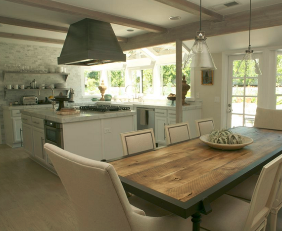 elegant kitchen // california home