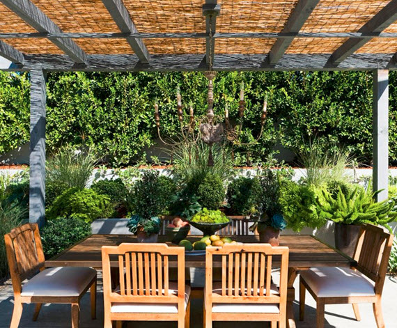 gorgeous southern california patio #outdoorliving