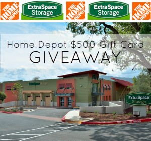 $500 Home Depot Gift Card Giveaway // Extra Storage Space and Simplified Bee Blog #giveaway
