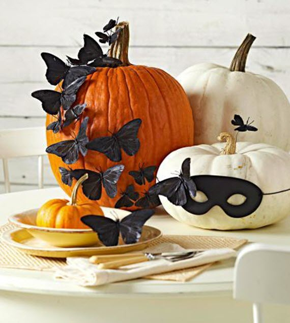 Halloween decoration ideas simplified bee for Creative halloween pumpkin decorating ideas