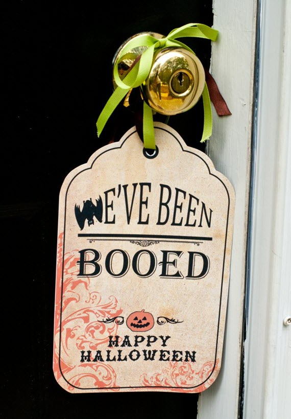 We've Been Boo'd // Halloween Fun Ideas